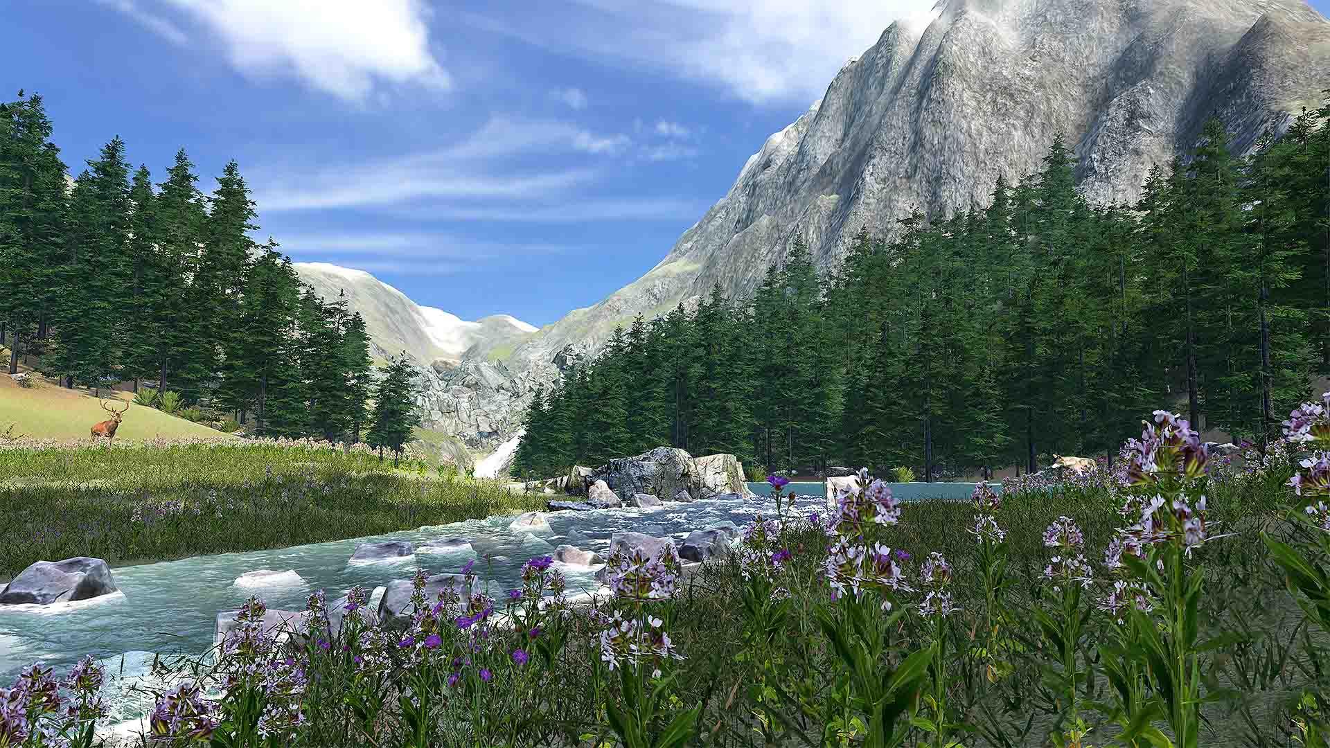 Clockstone VR Hunting bergige Waldlandschaft