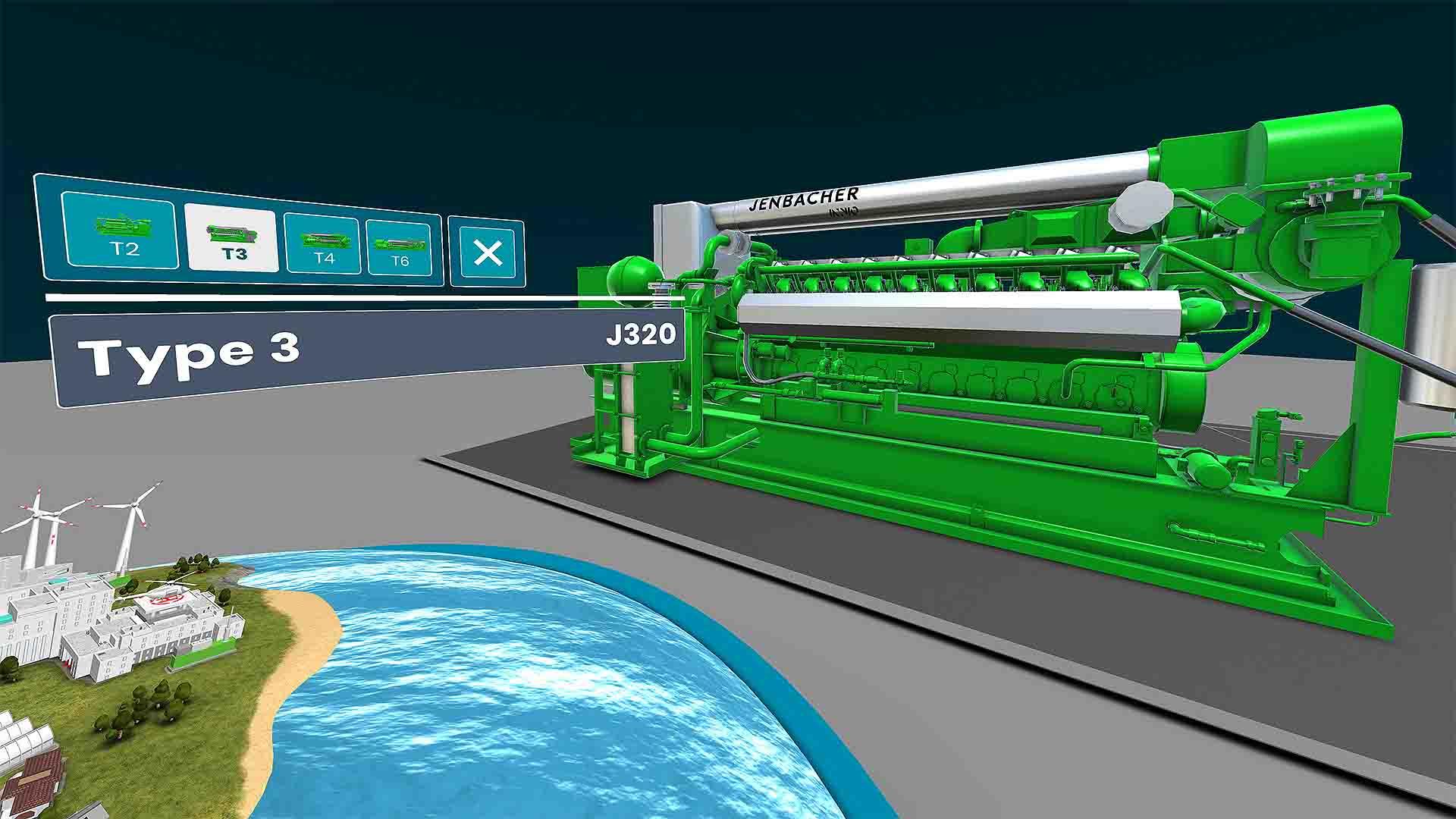 INNIO VR-Landscape Motor Type 3