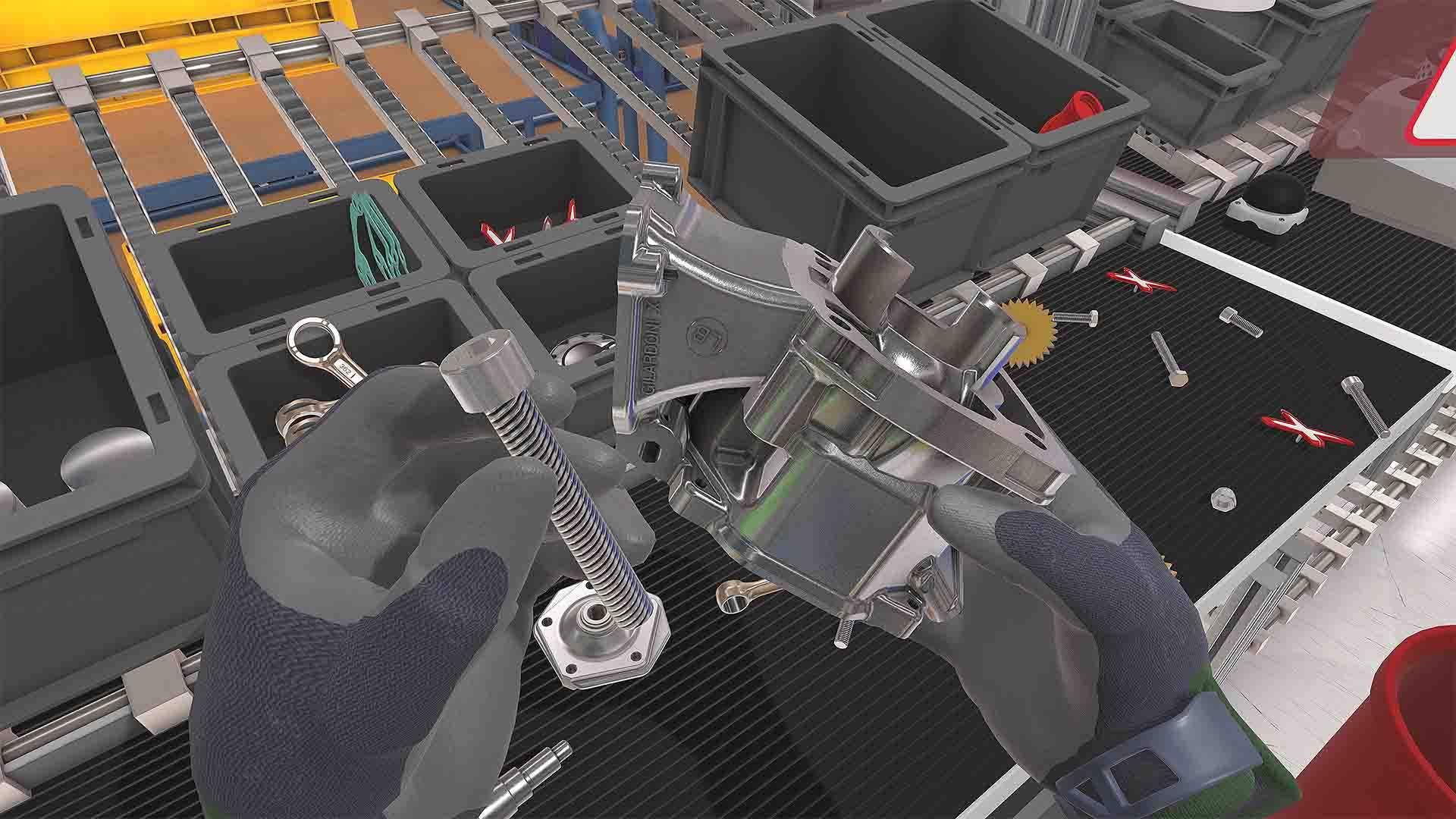 ROTAX VR-Assessment Zylinder mit Schraube