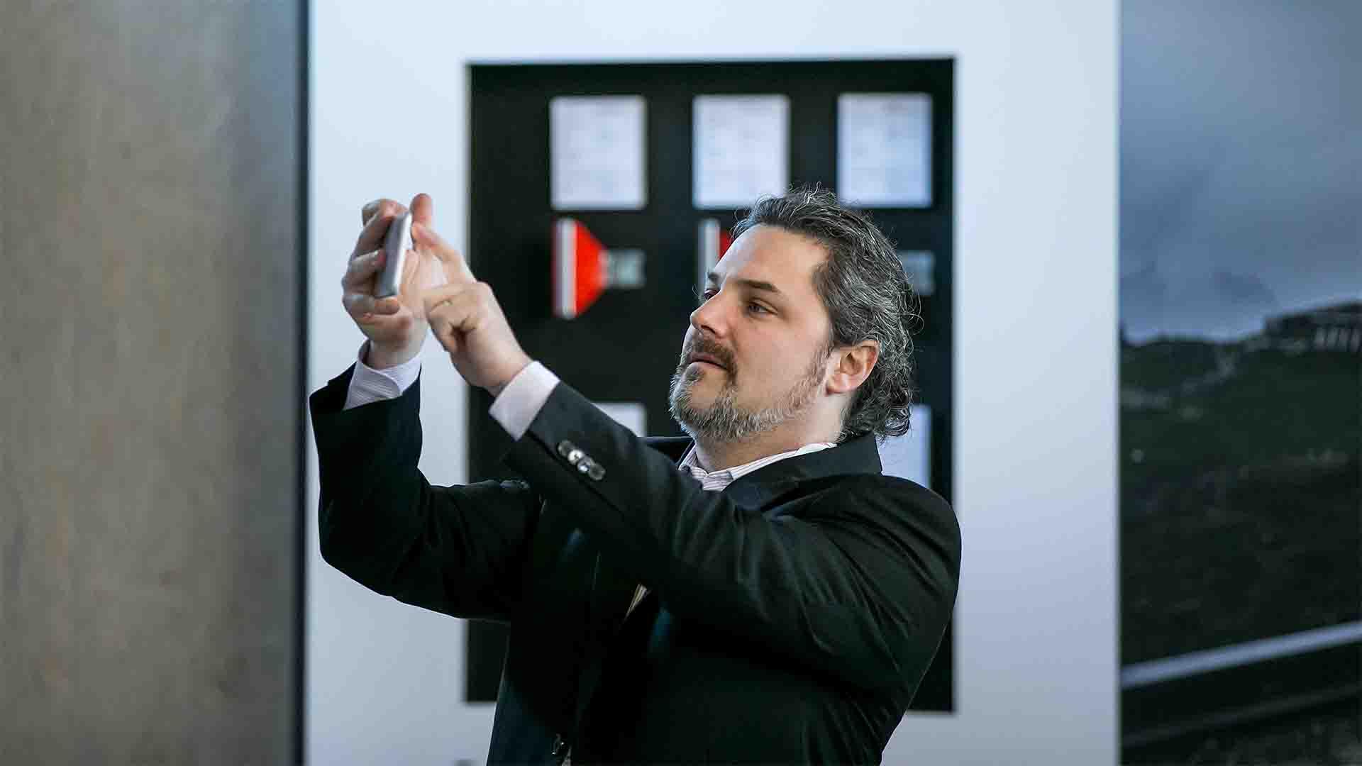 Swareflex AR Lenses Messestand Christoph Sitar